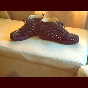Spiked Black Louboutins